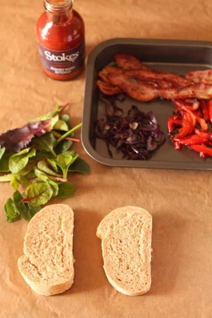 The grown up bacon sandwich @ Recipes From A Pantry