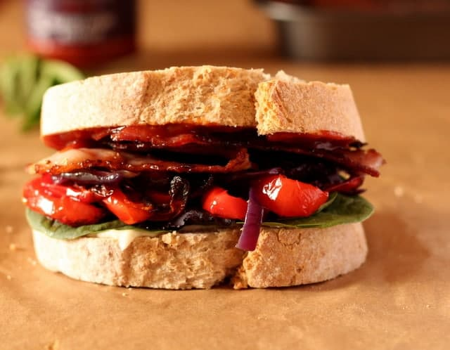 The Ultimate Bacon Sandwich