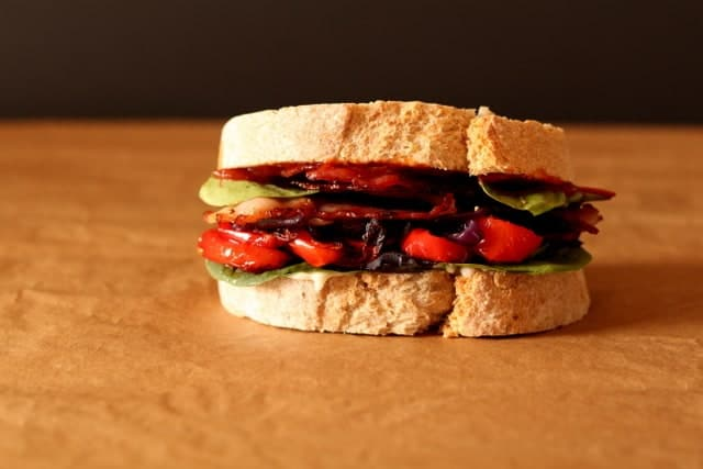 The Ultimate Bacon Sandwich @ Recipes From A Pantry