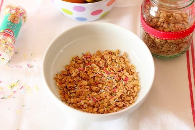 Funfetti Granola @ Recipes From A Pantry