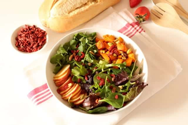 Roasted butternut and Goji Berry Salad @ Recipes From A Pantry