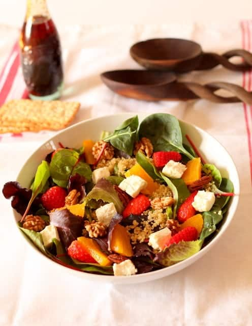 Strawberry Orange Quinoa Salad @ Recipes From A Pantry