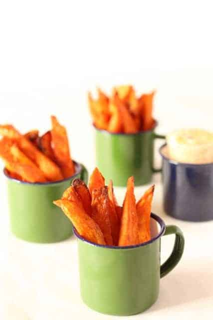 Baked Sweet Potato Fries @ Recipes From A Pantry