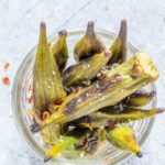 Crispy Roasted Okra – African Recipe