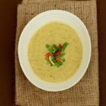 Cardamom, Almond and Courgette Soup {Vegan, Paleo}