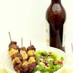 Lemon Chilli Beef Skewers
