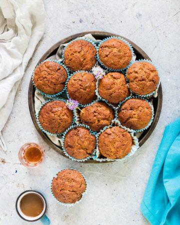 gluten free zucchini muffins -10