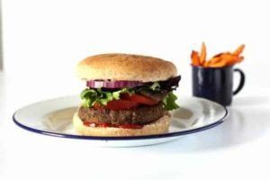 Chipotle Black Bean Burger @ Recipes From A Pantry