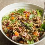 15 Min Vegetable Rice Quinoa Salad