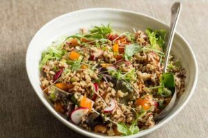 Quick vegetable rice salad recipe @ Recipes From A Pantry