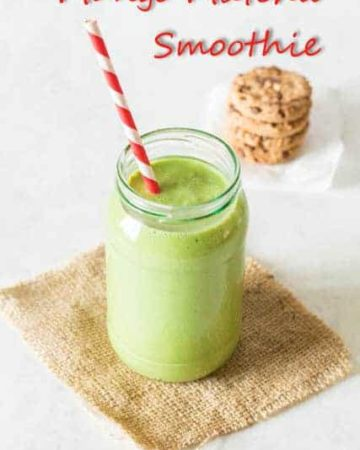 Matcha Tea Smoothie @ Recipes From A Pantry