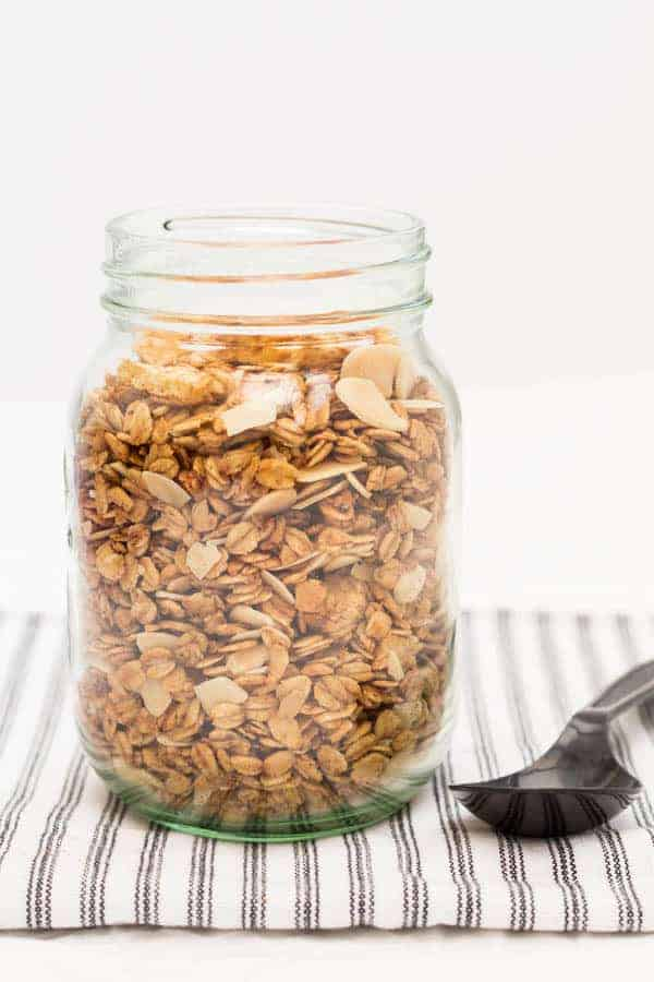 Apple Granola Recipe @ Recipes From A Pantry