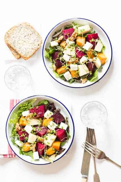 Roasted Beetroot Salad Recipe @ Recipes From A Pantry