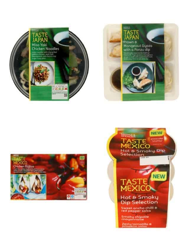 Marks and Spencer Taste Range Review @ Recipes From A Pantry