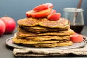 Wholemeal Pumpkin Pancakes Recipe @ Recipes From A Pantry