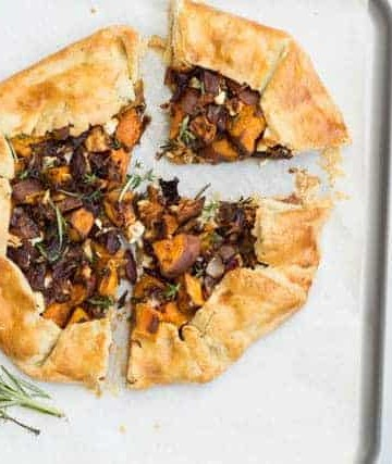Sweet potato galette @ Recipes From A Pantry