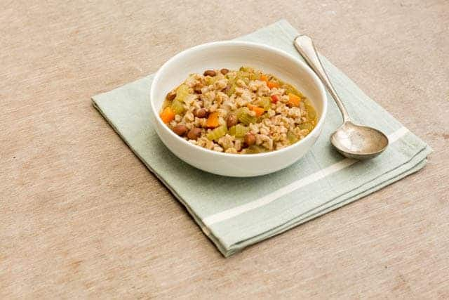 Farro soup recipe @ Recipes From A Pantry