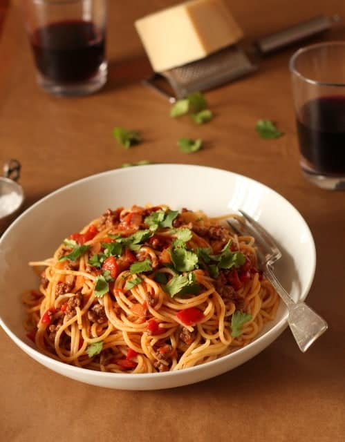 Spaghetti Bolognese @ Recipes From A Pantry