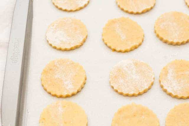 orange spiced shortbread recipe @ Recipes From A Pantry