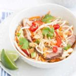 Vietnamese Style Duck, Noodle and Crunchy Vegetable Salad