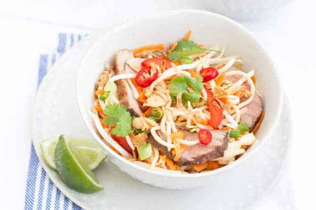 Vietnamese noodle salad Recipe | Recipes From A Pantry