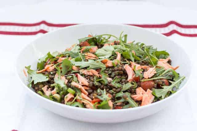 Trout and Lentil Salad Recipe | Recipes From A Pantry