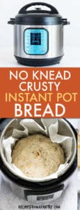 NO KNEAD INSTANT POT CRUSTY BREAD