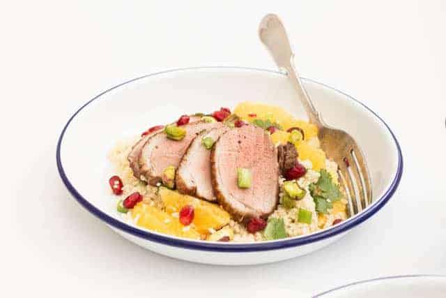 Baharat Roast Duck Recipe | Recipes From A Pantry