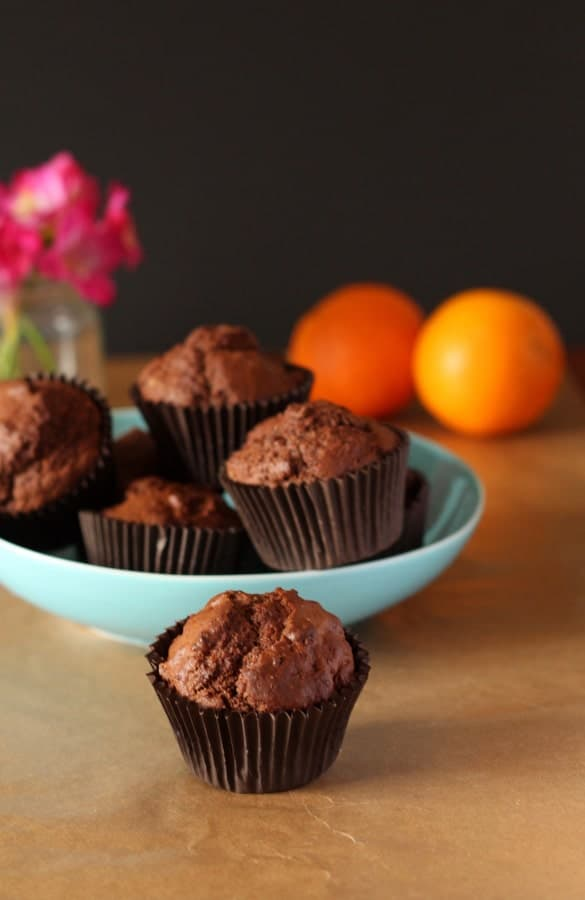 Chocolate Orange Muffins | Recipes From A Pantry