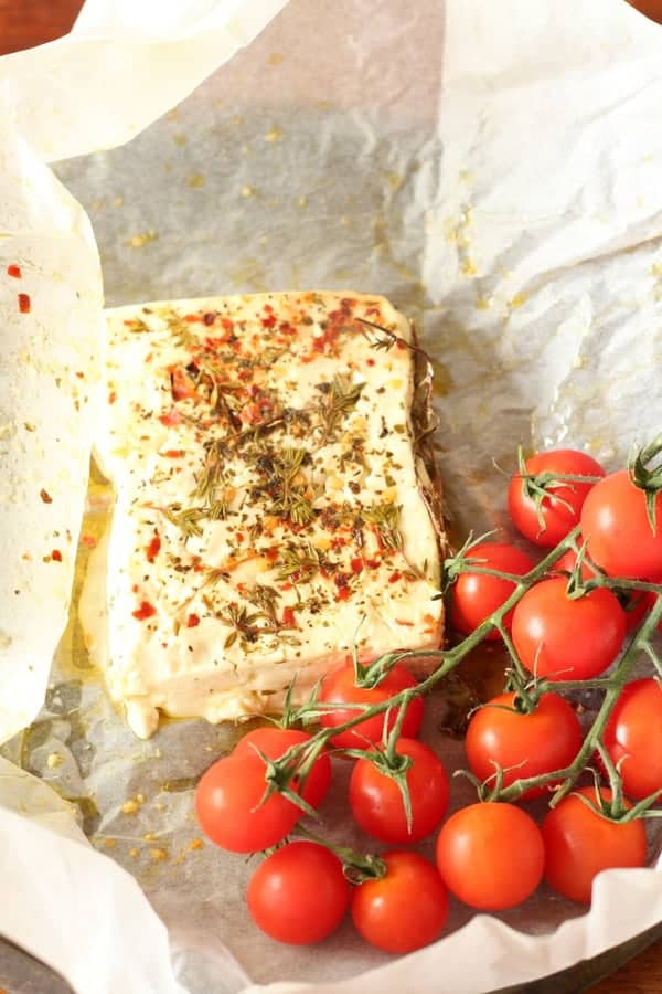Oven Baked Feta Cheese Recipe | Recipes From A Pantry