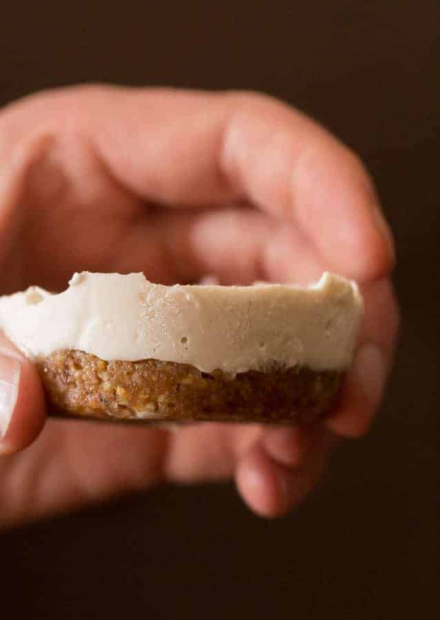 Mini No Bake Vegan Cheesecake Recipe | Recipes From A Pantry