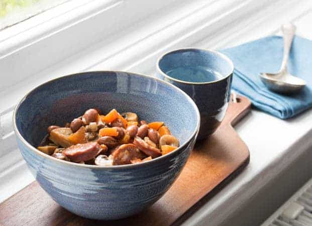 Chorizo and Mushroom Stew | Recipes From A Pantry