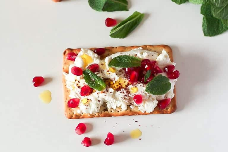 Labneh with Sumac and Pomegranate | Recipes From A Pantry