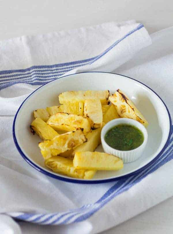 Grilled Pineapple Recipe   Recipes From A Pantry