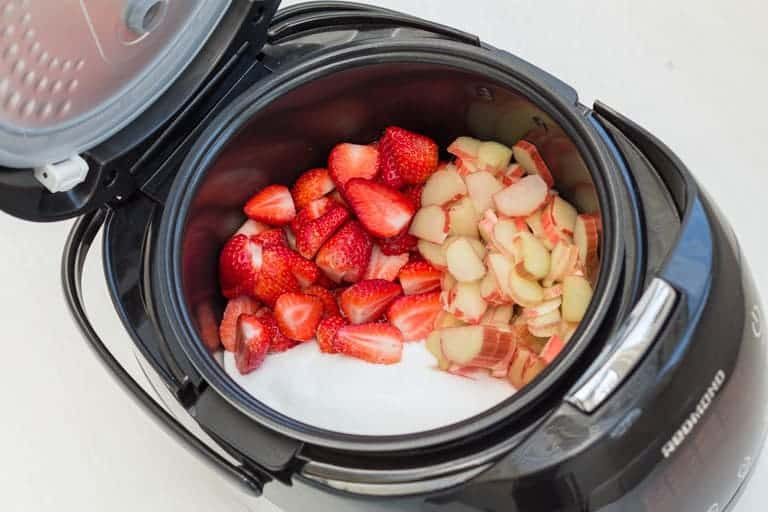 Rhubarb and Strawberry Jam Recipe | Recipes From A Pantry