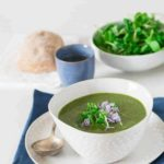 Creamy Rocket and Watercress Soup in the Multicooker Redmond