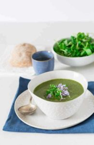 Healthy Creamy Rocket and Watercress Soup | Recipes From A Pantry