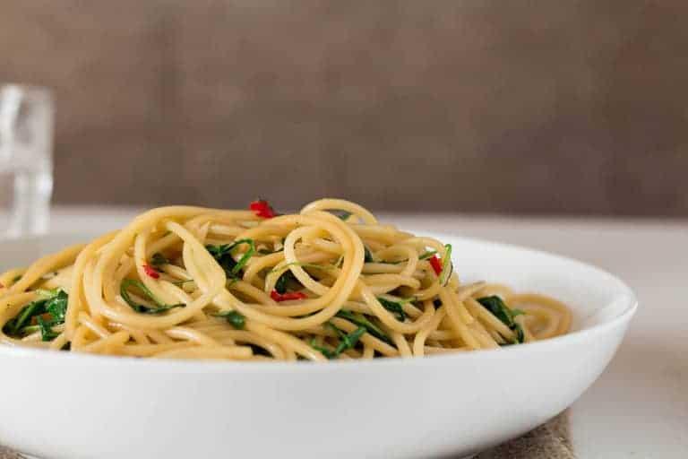 Garlic Arugula Pasta Recipe   Recipes From A Pantry