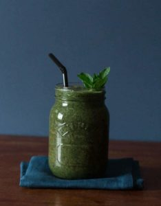 Coconut Green Smoothie | Recipes From A Pantry
