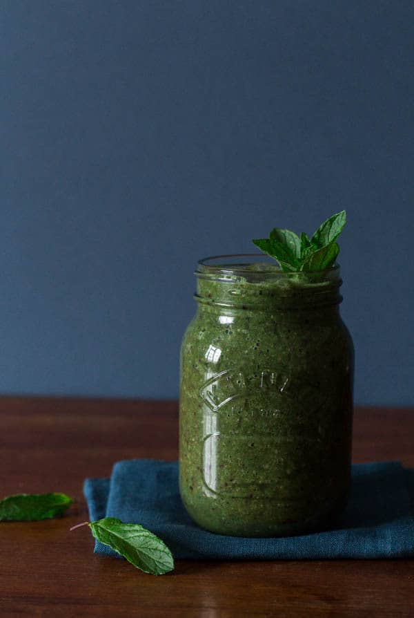 Green Coconut Smoothie | Recipes From A Pantry