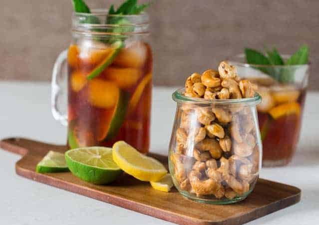Oven Honey Roasted Cashew Nuts | Recipes From A Pantry
