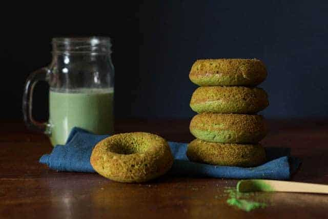Baked Matcha Doughnuts Recipe | Recipes From A Pantry