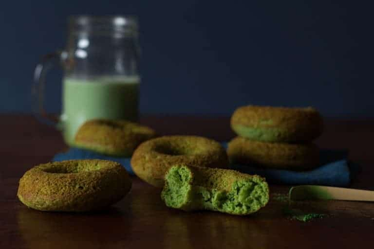 Matcha Baked Doughnuts Recipe | Recipes From A Pantry