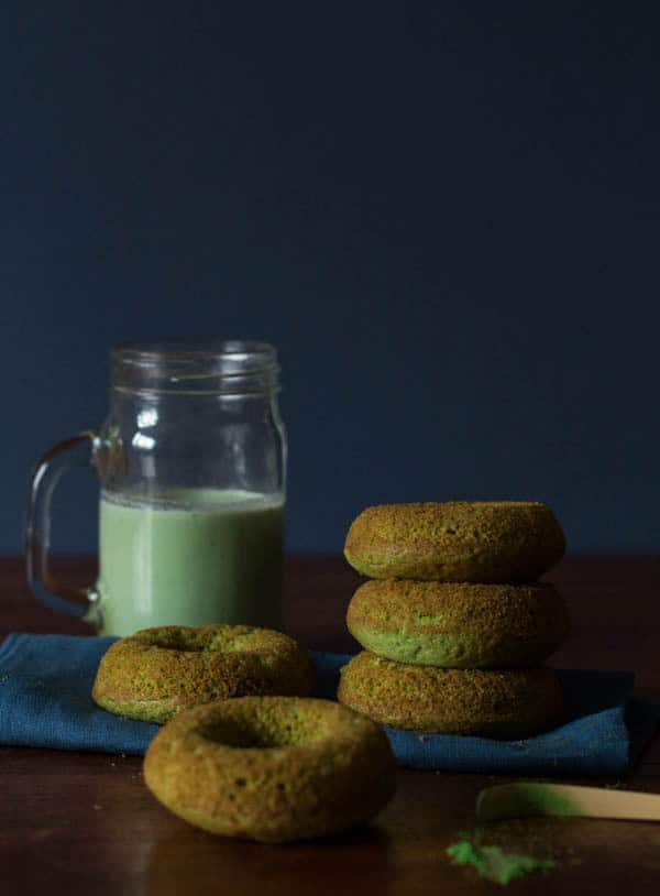Baked Matcha Donuts Recipe   Recipes From A Pantry