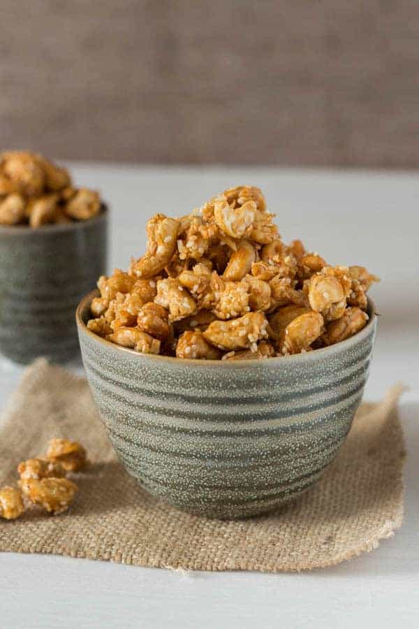 Roasted Coconut Sesame Cashews | Recipes From A Pantry