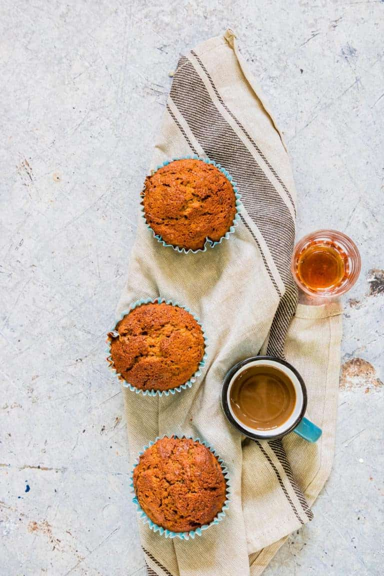 chai courgette muffins recipe | recipesfromapantry.com