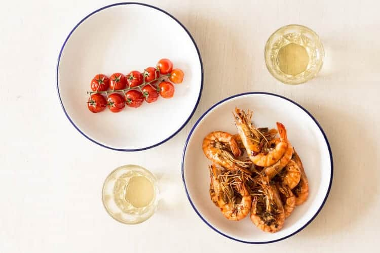 Smokey Grilled Prawns Recipe | Recipes From A Pantry