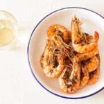 Seriously Smoky Grilled Prawns