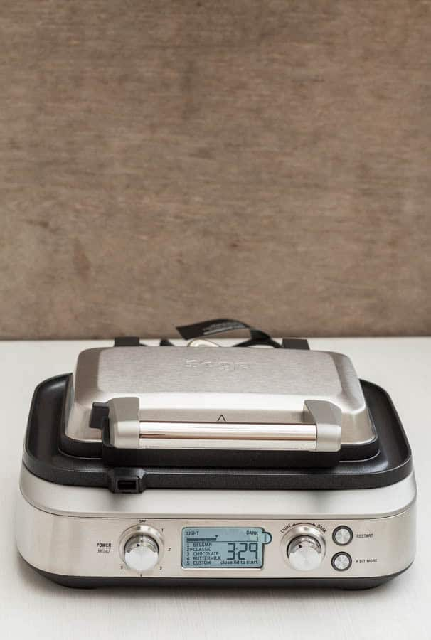 Heston Blumenthal Sage Appliances Smart Waffle Maker Review | Recipes From A Pantry