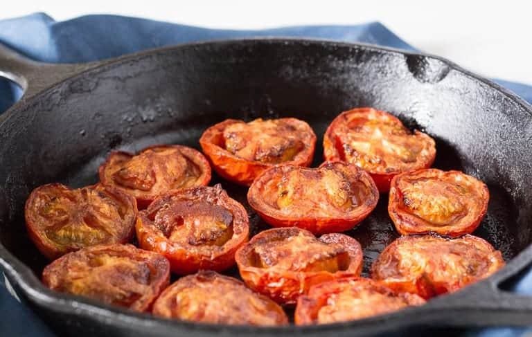 Baked  Allspice and Cinnamon Tomatoes | Recipes From A Pantry